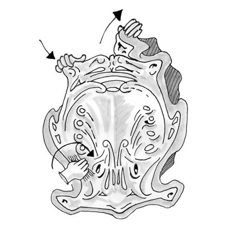 Ornament i polyesterharts